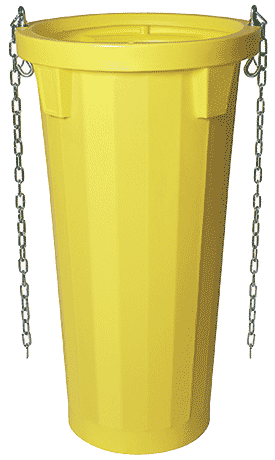 Stackable with anti-joint stacking system Rubbish-Chutes-System-Dubai-Garbage-Chutes-System-for-construction-UAE-TSS-Total-Safety-Solution-fall-protection-system