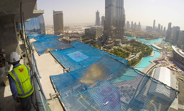 Safety-Net-fans-Burj-khalifa-dubai mall safety-Net-Fans-TSS-Total-Safety-Solution-fall-protection-system-fall-arrest-Dubai-Uae-Abu-dhabi-GCC-middle-east-saudi-arabia-qatar-Iran-Turkey-oman-kuwait-bahrain