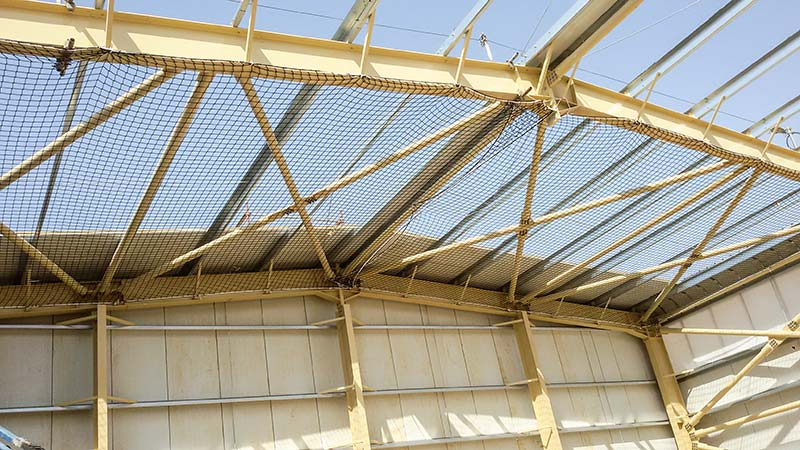 Safety Nets - TSS Safety Nets, Roof Safety System, Fall