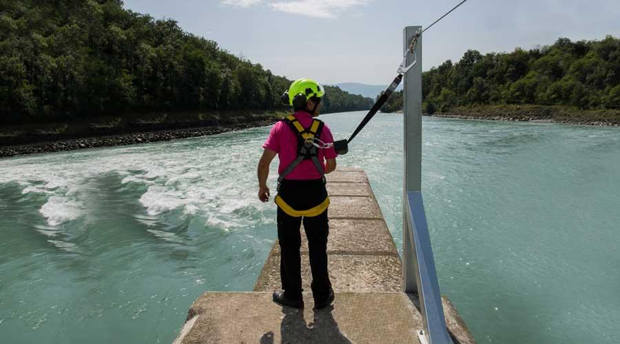 horizontal lifeline lifeline-overhead horizontal lifeline