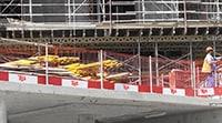 Edge Protection System Fall Protection meshguard Saudi Arabia UAE Oman Bahrain KSA Kuwait Qatar Lebanon Egypt Dubai Jeddah Mecca Russia ASIA Middle East Doka Gulf Combisafe ULMA TCE Honeywell TSS