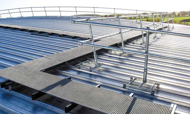Roof Safety System roof Walkway Fall Arrest Saudi Arabia UAE Oman Bahrain Kuwait Qatar Lebanon Azerbaijan Egypt Dubai Jeddah Russia Middle East Doka Gulf Combisafe TCE Honeywell TSS GCC 2