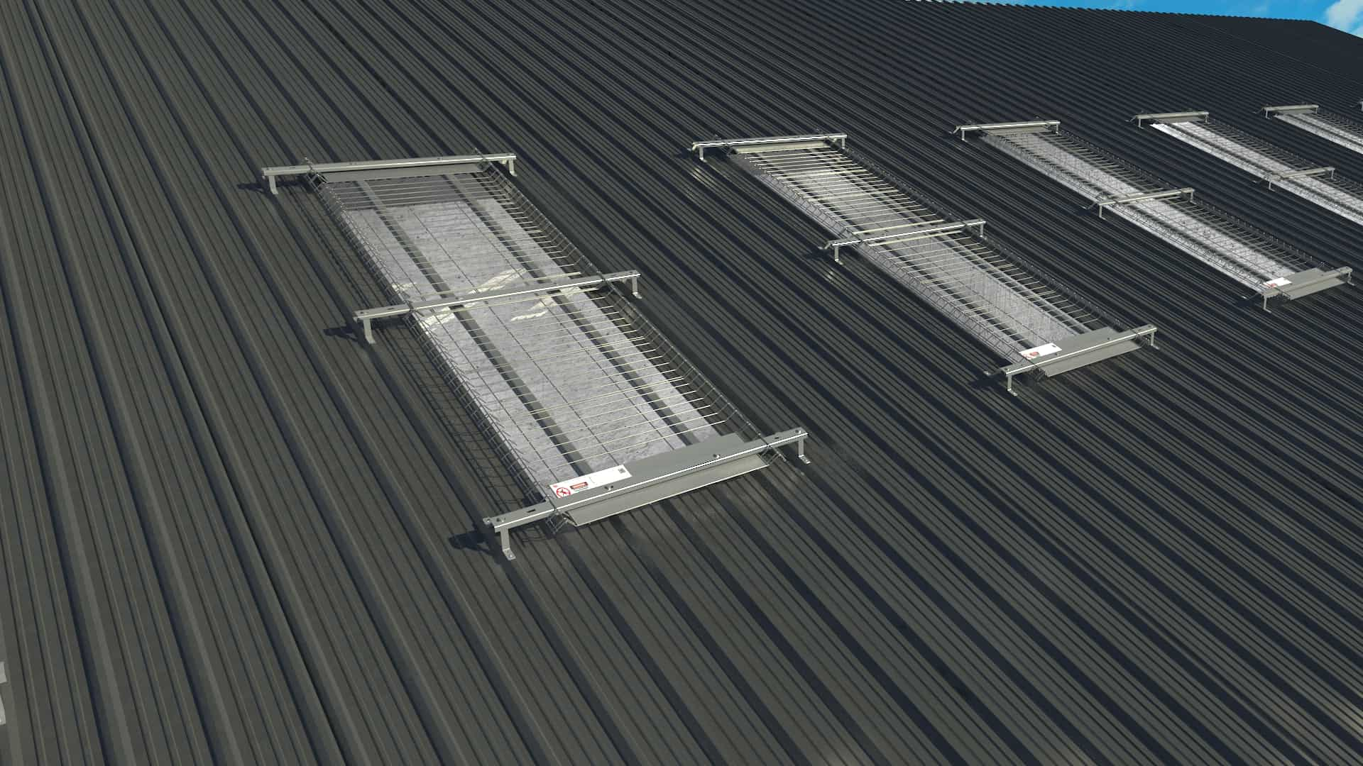 Skylight Roof Safety Protection