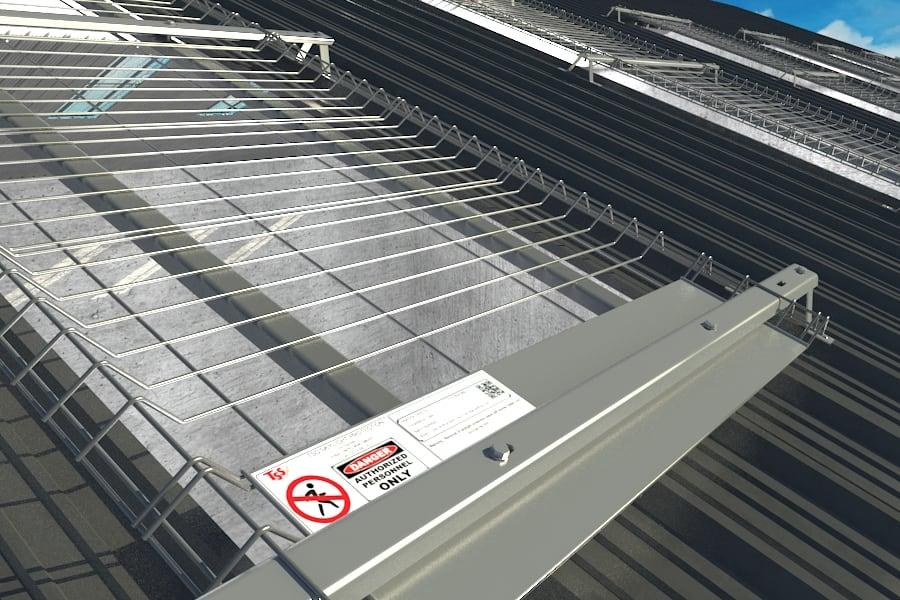 Skylight Roof Safety Protection Edge Protection Safety Net Fan Fall Arrest UAE DUbai Saudi Arabia Kuwait qatar Oman Bahrain SHarjah Abu dhabi Egypt TSS Total Safety SOlution 06
