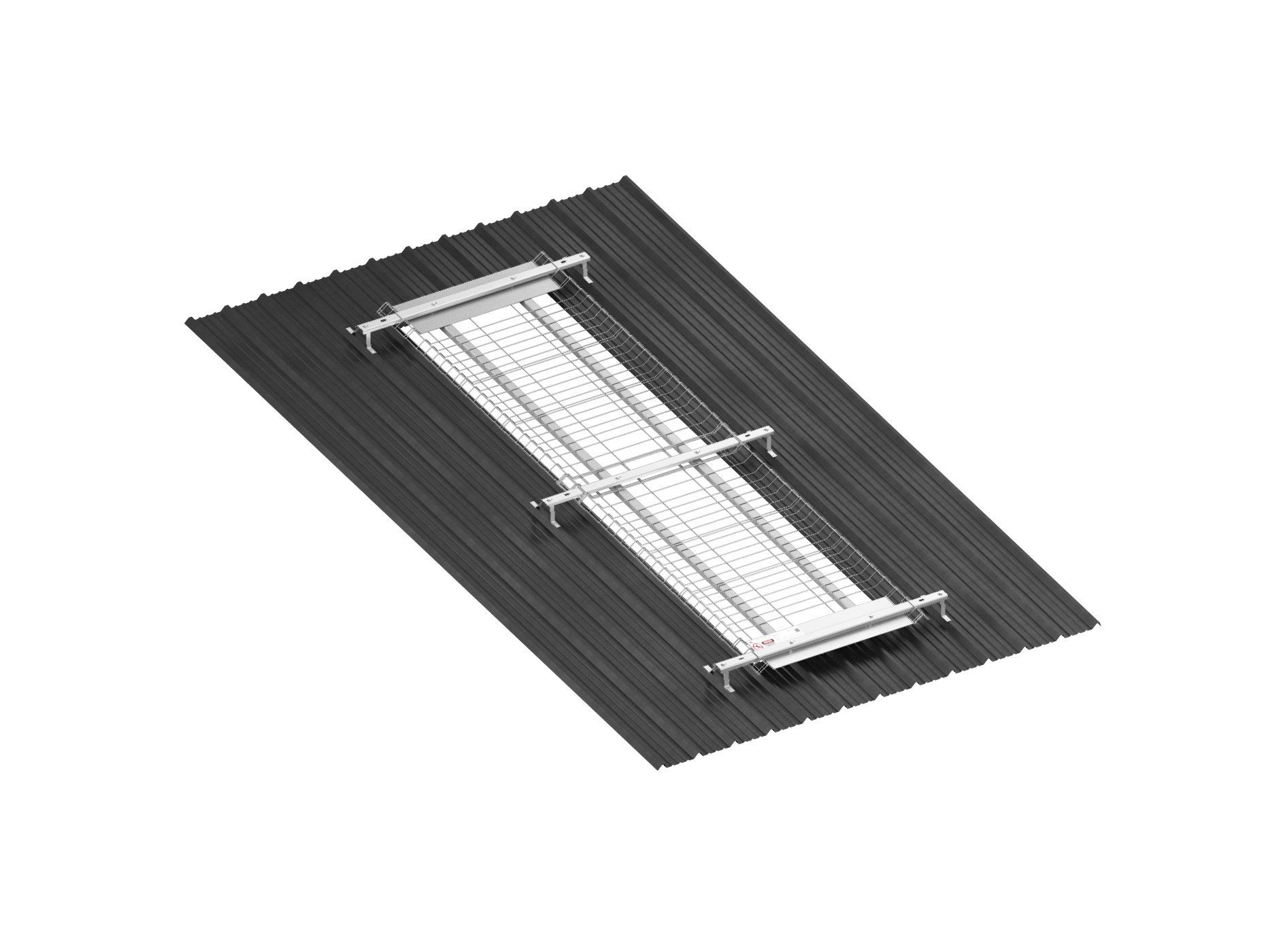 Skylight Roof Safety Protection Edge Protection Safety Net Fan Fall Arrest UAE DUbai Saudi Arabia Kuwait qatar Oman Bahrain SHarjah Abu dhabi Egypt TSS Total Safety SOlution 07 ISometric