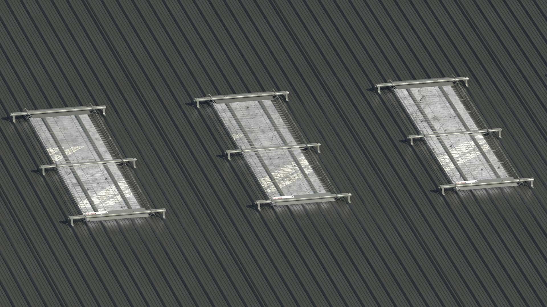 Skylight TSS roof safety system roof netting fall protection fall arrest system skyguard Saudi Arabia UAE Bahrain Qatar Oman Iraq Turkey Dubai abu dhabi sharjah 2