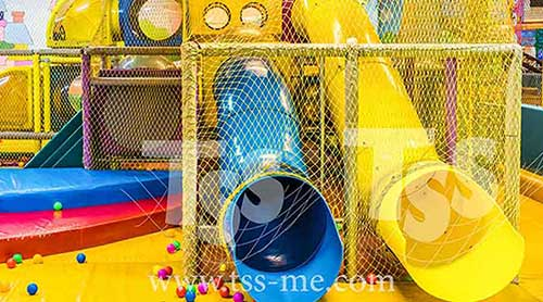 Safety Nets parks kids play area Playgrounds protect children against fall and hard surfaces Saudi Arabia UAE Oman Bahrain Kuwait Qatar Lebanon Azerbaijan Egypt Dubai Jordan Russia Middle East TSS 55